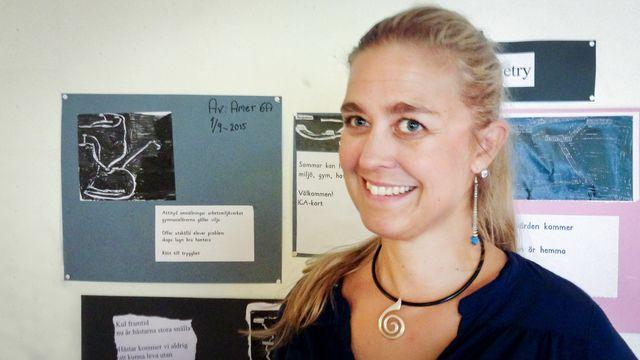 Lärarrummet : Sara Persson och mottagningsklassen Hjärtat