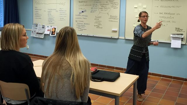 Lärarrummet : Religion, livsåskådning och hollywoodfilm