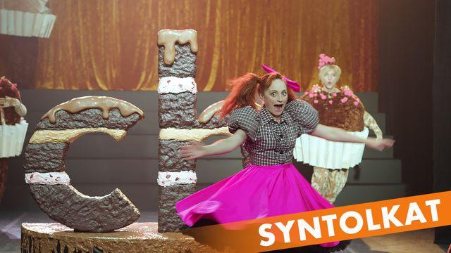 Livet i Bokstavslandet - syntolkat : Choklad