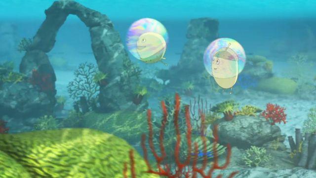 Tripp, Trapp, Träd : Såpbubblor