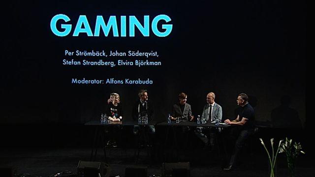 UR Samtiden - Polarprissamtal 2015 : Sveriges kreativa näringar - spel