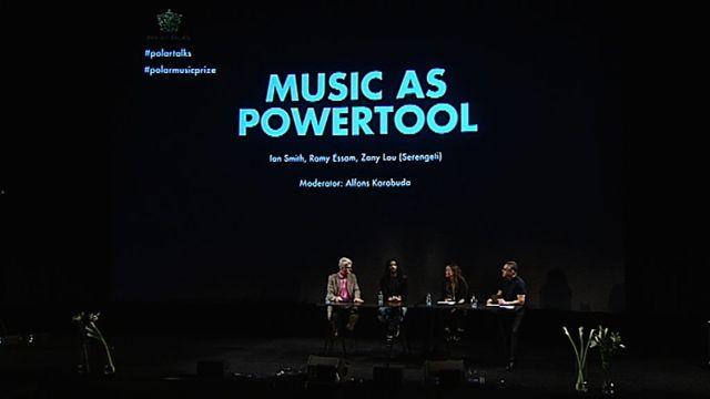 UR Samtiden - Polarprissamtal 2015 : Musik för att påverka