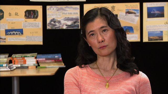 Modersmål på väg : Yin-Fei undervisar i mandarin
