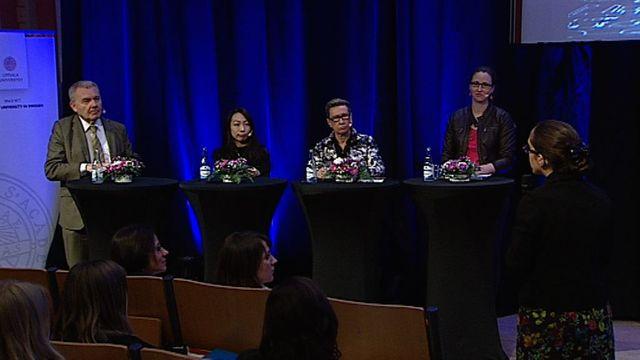 UR Samtiden - Kvinnliga forskare i rampljuset : Är kvinnor sämre på att söka stipendier?