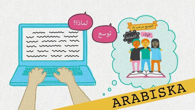 Förstå kunskapskraven - arabiska : Att utveckla ett resonemang