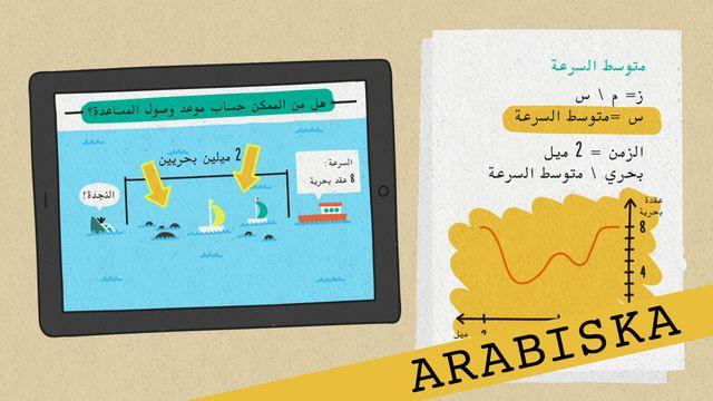 Förstå kunskapskraven - arabiska : Att lösa problem och föra resonemang