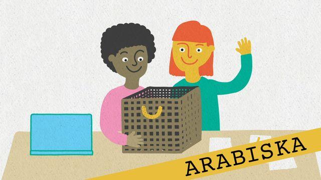 Förstå kunskapskraven - arabiska : Att pröva och ompröva