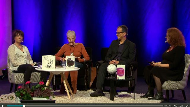 UR Samtiden - Bokmässan 2015 : I känslornas värld