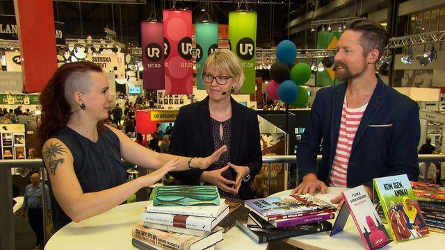 UR Samtiden - Bokmässan 2015 : Lättläst litteratur