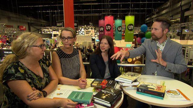 UR Samtiden - Bokmässan 2015 : Tre bibliotekarier om läsning