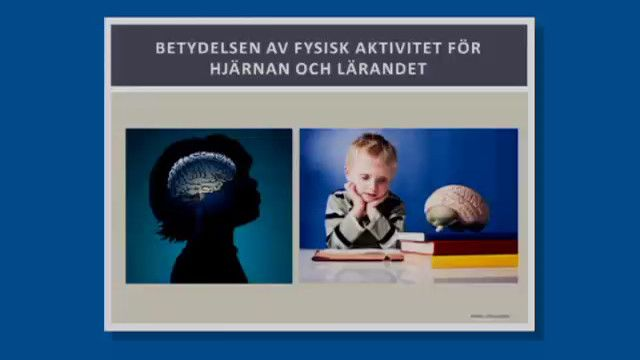 UR Samtiden - Fysisk aktivitet förbättrar skolresultatet