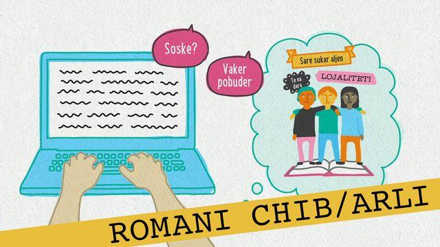 Förstå kunskapskraven - romani chib/arli : Att utveckla ett resonemang