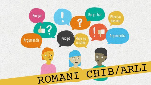 Förstå kunskapskraven - romani chib/arli : Att föra en diskussion framåt