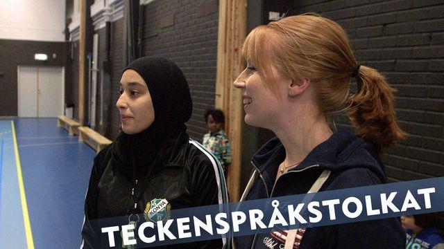 Makt hos mig - teckenspråkstolkat : Sara och Annie Lööf