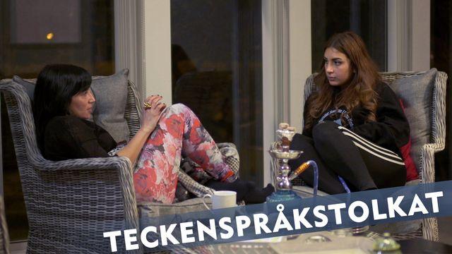 Makt hos mig - teckenspråkstolkat : Jessica och Rossana Dinamarca