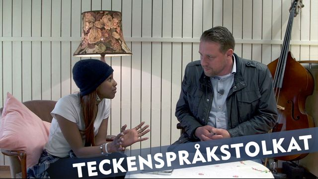 Makt hos mig - teckenspråkstolkat : Segal och Mattias Karlsson