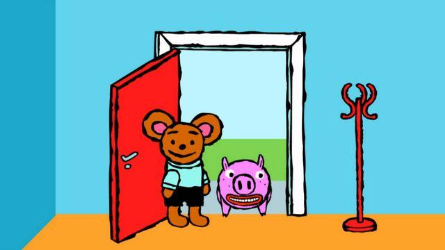 Pinos dagbok - lulesamiska : Pino och grisen