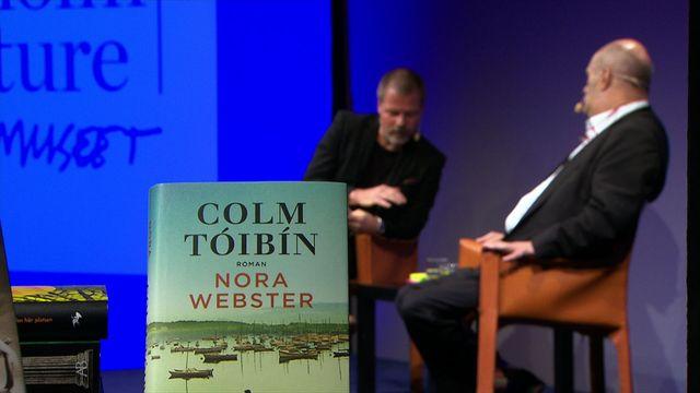 UR Samtiden - Stockholm Literature 2015 : Colm Tóibín + Kristoffer Leandoer