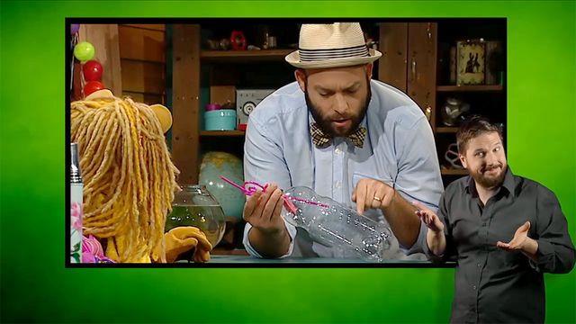 Tiggy testar - teckenspråkstolkat : Den omöjliga ballongen