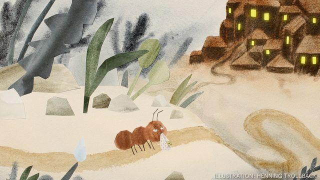 Tripp, Trapp, Träd : Myran i skogen