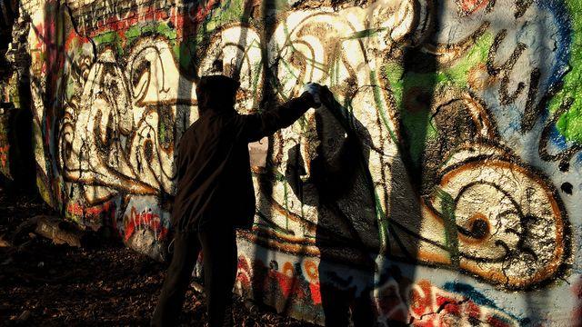 Barnaministeriet dokumentär : Graffitimålaren