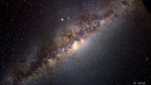 Bildningsbyrån - rymden : Vintergatan och solsystemet