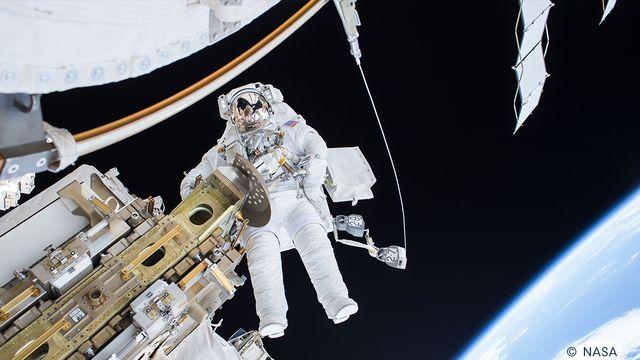 Bildningsbyrån - rymden : Jordmänniskan i rymden