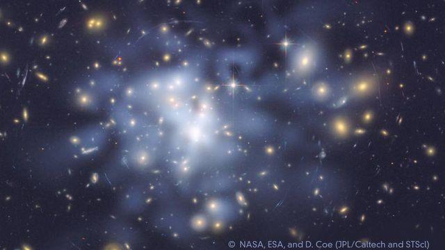 Bildningsbyrån - rymden : Det allra mesta är mörkt