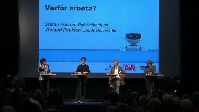UR Samtiden - Robotdagen 2015 : Varför arbeta?