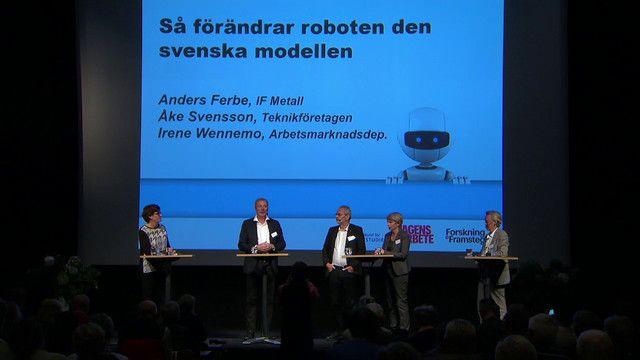 UR Samtiden - Robotdagen 2015 : Roboten och den svenska modellen
