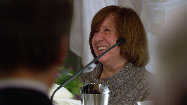 UR Samtiden - Nobelföreläsningar 2015 : Svetlana Aleksijevitj, litteratur