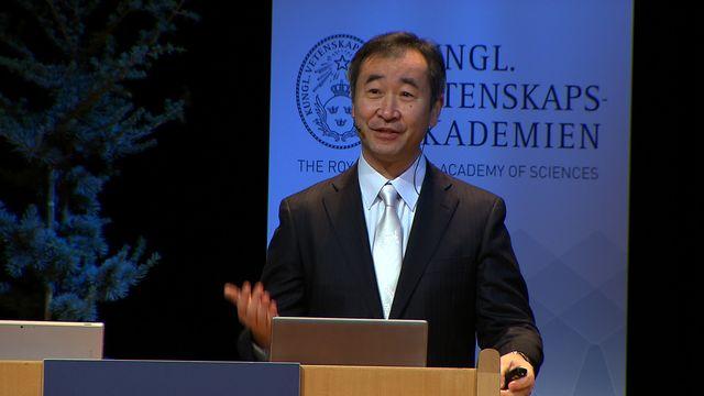 UR Samtiden - Nobelföreläsningar 2015 : Takaaki Kajita, fysik