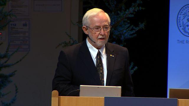 UR Samtiden - Nobelföreläsningar 2015 : Arthur B McDonald, fysik