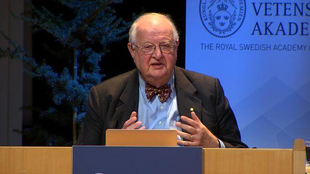 UR Samtiden - Nobelföreläsningar 2015 : Angus Deaton, ekonomi