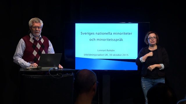 UR Samtiden - Sveriges nationella minoriteter