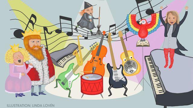 Bråkorkestern : Den kungliga musikgalan