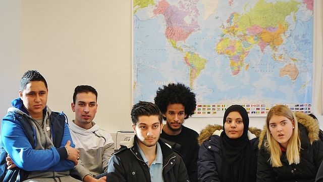 Barnaministeriet dokumentär : Bli kompis med en flykting