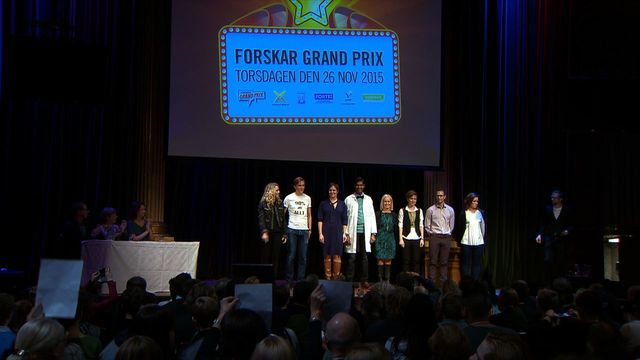 UR Samtiden - Forskar-Grand Prix 2015 : Forskar-Grand Prix 2015