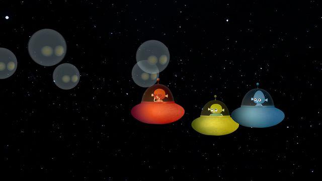 Vims i rymden : Hej då jorden!