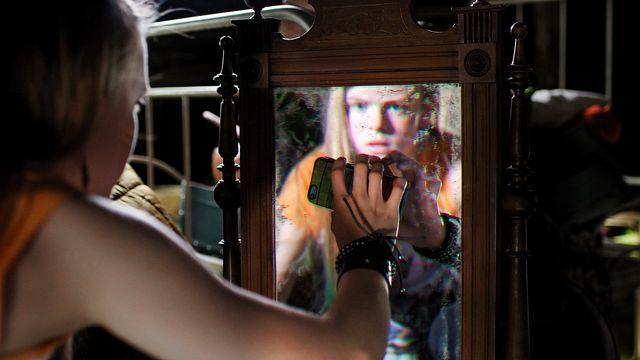 Spegelvänd : Spegeln