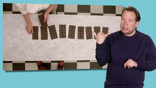 Livet i Mattelandet - teckenspråkstolkat : Positionssystemet