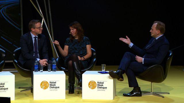 UR Samtiden - Nobel Week Dialogue 2015 : Är beslutsfattarna tillräckligt smarta?