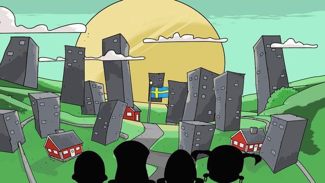 Bland höghus och paraboler : Om våld och grupptryck