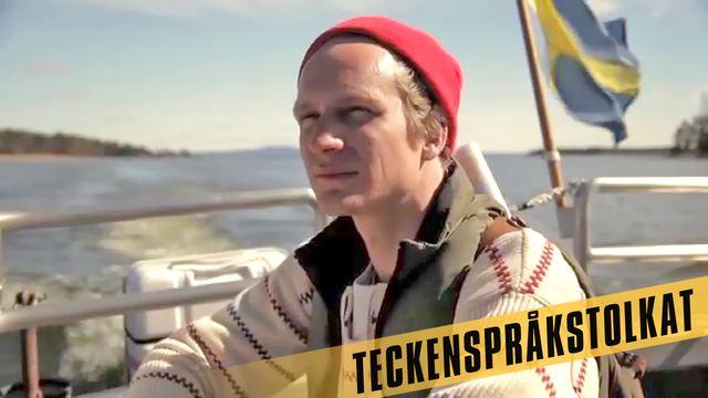 Den stora Sverigeresan - eller Geografens testamente - teckenspråkstolkat : De stora sjöarna