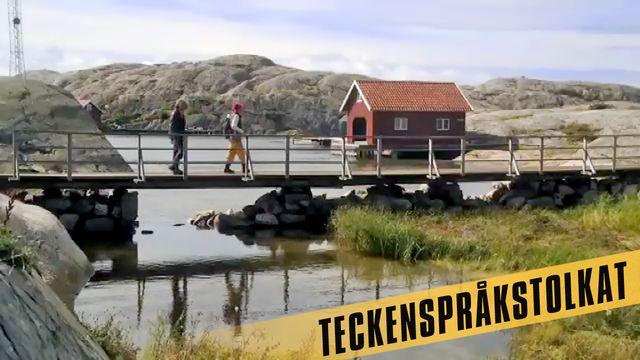 Den stora Sverigeresan - eller Geografens testamente - teckenspråkstolkat : De tusentals öarna