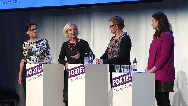 UR Samtiden - Forte talks 2016 : Flickors och kvinnors situation i världen