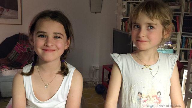 Skolstart : Ebba och Siri
