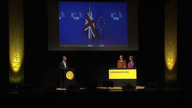 UR Samtiden - Utrikesdagen 2016 : Storbritannien ut ur EU?