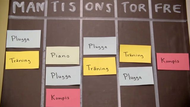 Orka plugga : Så planerar du din pluggtid