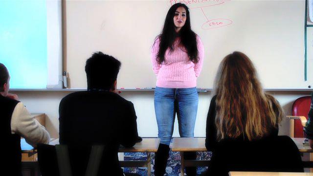 Orka plugga : Kroppsspråk och muntlig framställning